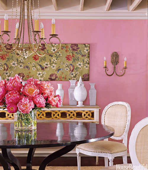 #InteriorDesign  Colorful Dining Rooms | Designer: Suzanne Kasler