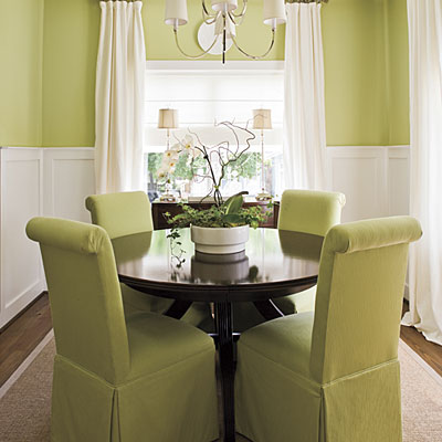 #InteriorDesign Colorful dining rooms / Designer: Jill Boothby