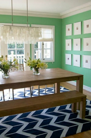 #InteriorDesign Colorful dining rooms | Homeowners: Chrissy & Matt Droessler