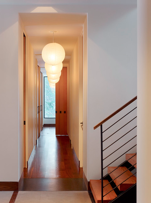 lighting for hallways and landings. Designer: John Maniscalco Architecture Lighting For Hallways And Landings C