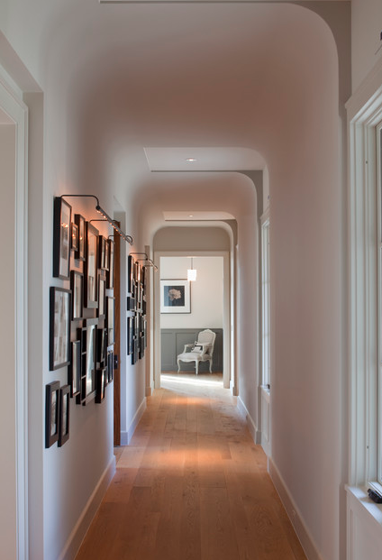 Squeezing Style Into A Narrow Hallway. Designer: Tim Cuppett Architects Nice Design