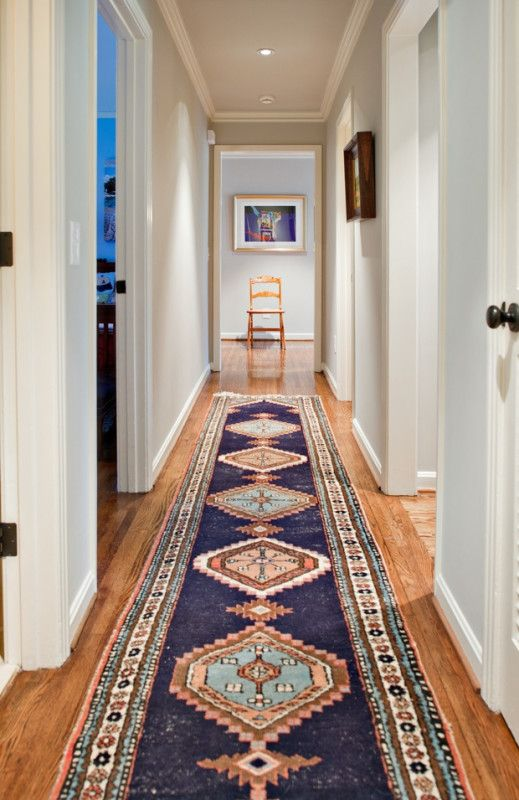 7 DIY Cures For The Claustrophobia Caused By Long, Narrow Hallways  ➤  http://carlaaston.com/designed/how-to-decorate-long-narrow-hallway  |  Long, narrow hallways can feel claustrophobic. Here are 7 ideas on how you can cure that confined feeling...   |    #DESIGNREFRESH:The Best Interior Design Links of the Week! | DESIGNER: namenamename