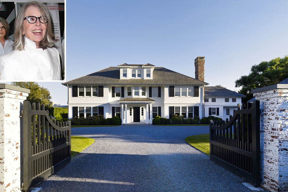 Diane Keaton Rents 'Masterpiece' Hamptons Home  ➤  http://carlaaston.sharedby.co/share/KqdL4H  |  Diane Keaton rented interior designer/real estate developer Dan Scotti's East Hampton home over the Fourth of July weekend. |    #DESIGNREFRESH:The Best Interior Design Links of the Week! | PHOTOGRAPHER:  Daniel B. Scotti