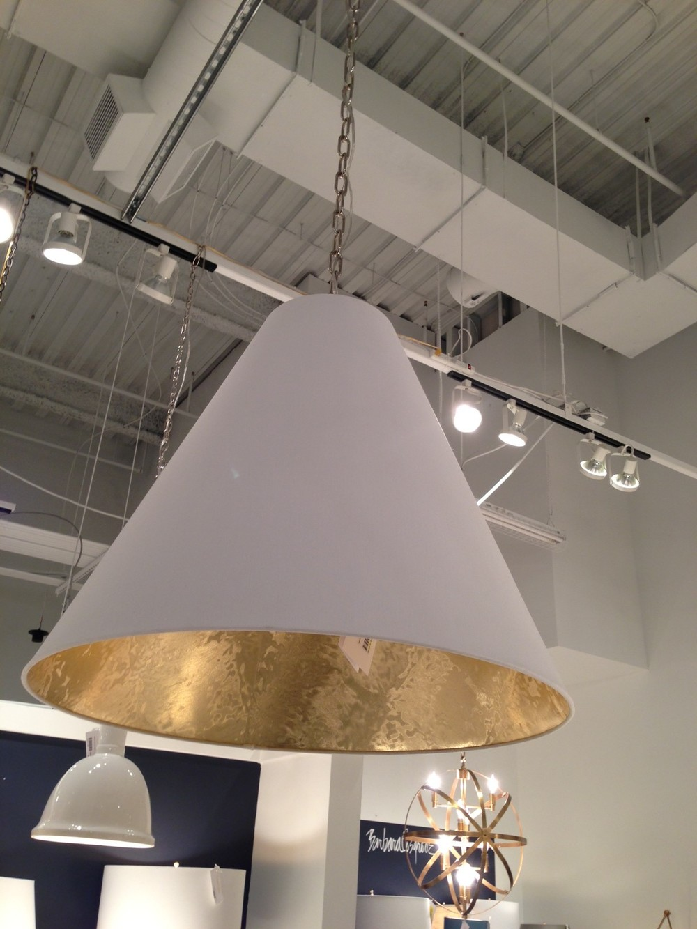 Pendant light by Barbara Cosgrove.  | #LVmkt, best, home, decor, furniture, interior design
