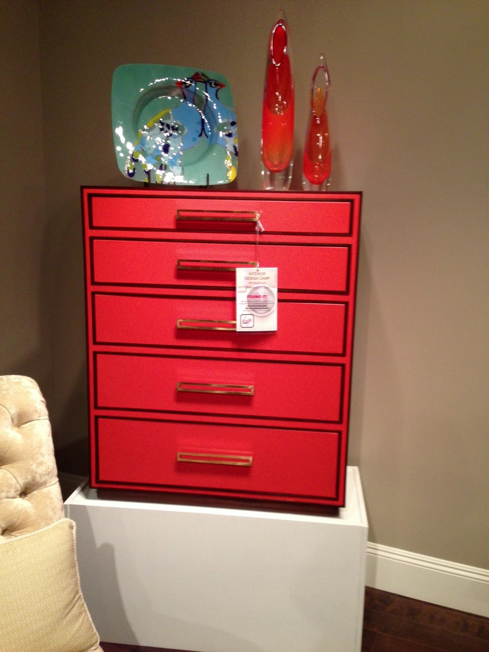 Red chest by Lexington Home Brands.  | #LVmkt, best, home, decor, furniture, interior design