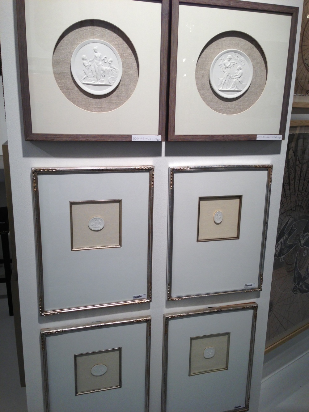 Framed Intaglios by Art Classics Ltd. | #LVmkt, best, home, decor, furniture, interior design