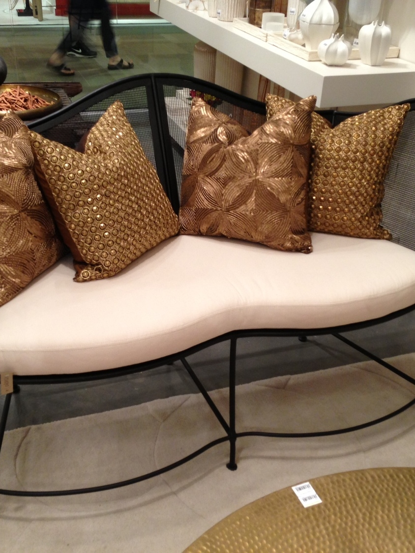 Settee by Studio A. | #LVmkt, best, home, decor, furniture, interior design