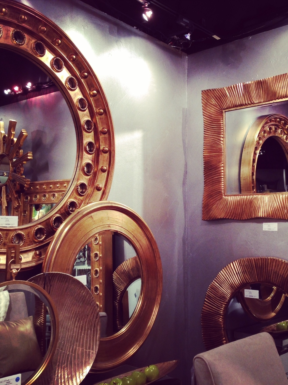 Mirrors by Howard Elliott | #LVmkt, best, home, decor, furniture, interior design