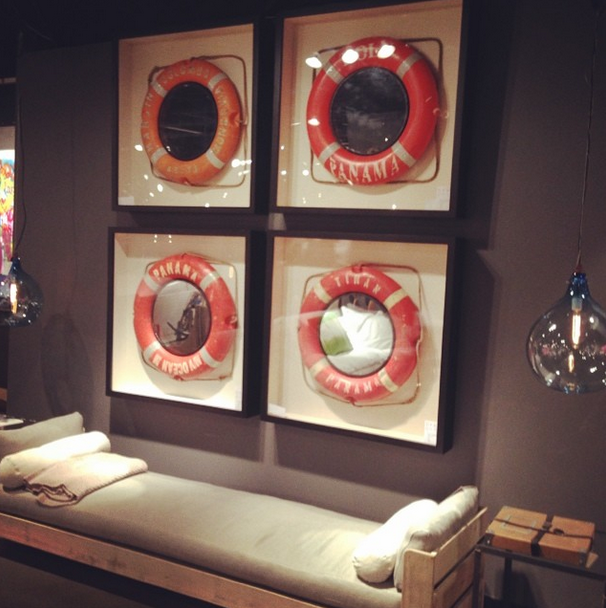 Cool Nautical wall art by Andrew Martin decor design frame