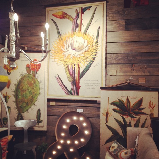 Botanicals & vintage prints made into cloth tapestries. @ Design Legacy | Wall art decor design