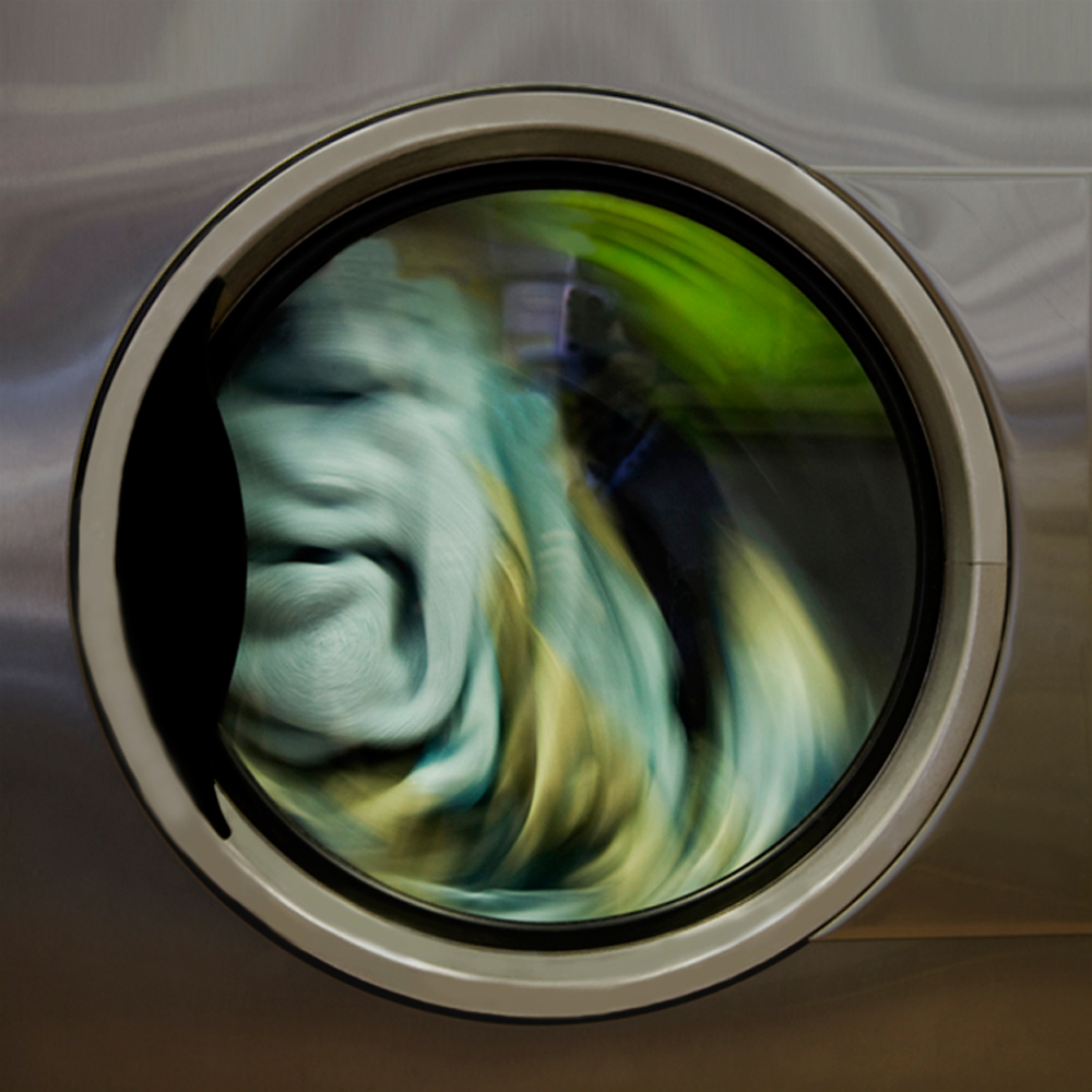 "Here's Proof That Beautiful Art Is Hiding In The Most Mundane Of Places, Even Your Laundry ➤ http://bit.ly/1pEHn0Z | Artist Yvette Meltzer just might be one of the only photographers to turn the turning machinery into a two-year long photographic adventure. Titled ""Revolutions,"" the series is part documentary, part abstract experimentation, capturing a banal moment that stands on its own as hidden piece of art. 
