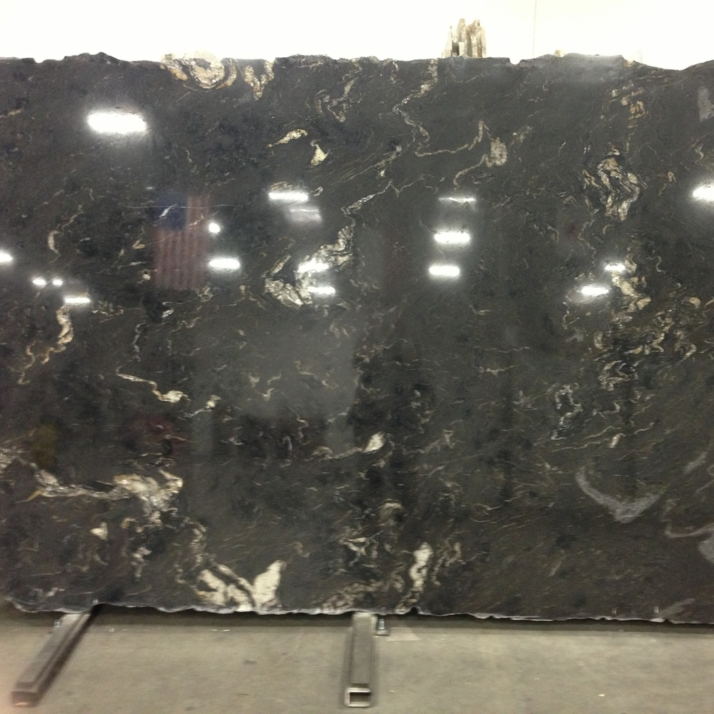 Titanium granite countertop slab, Arizona tile