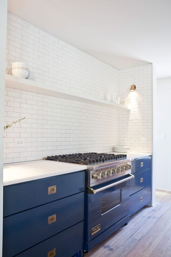 Prediction: The 2015 Pantone Color of the Year will be... / kitchen | Designer: Jen Lagnston