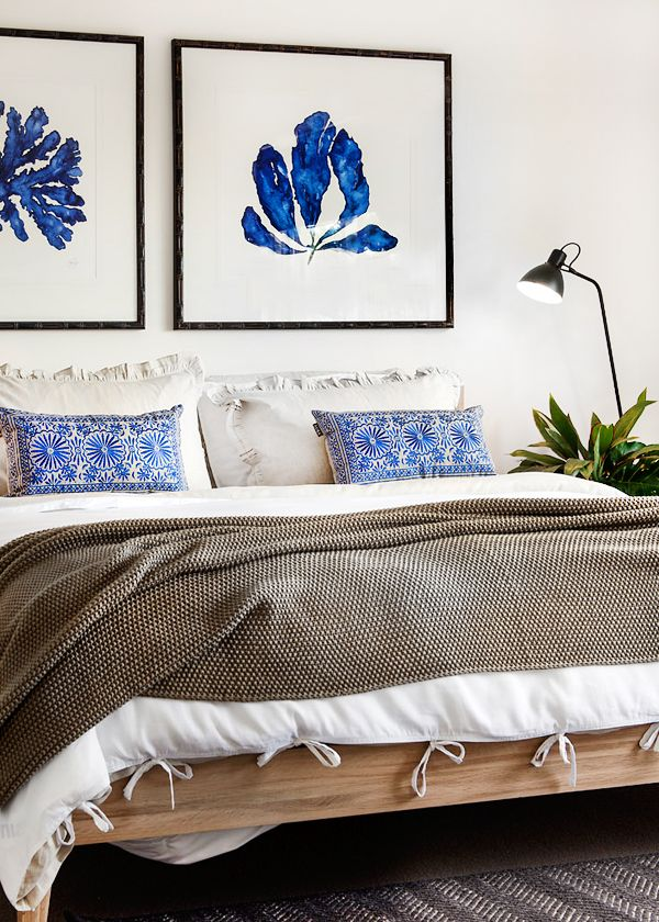 Prediction: The 2015 Pantone Color of the Year will be... / bedroom | Designer: Collected Interiors