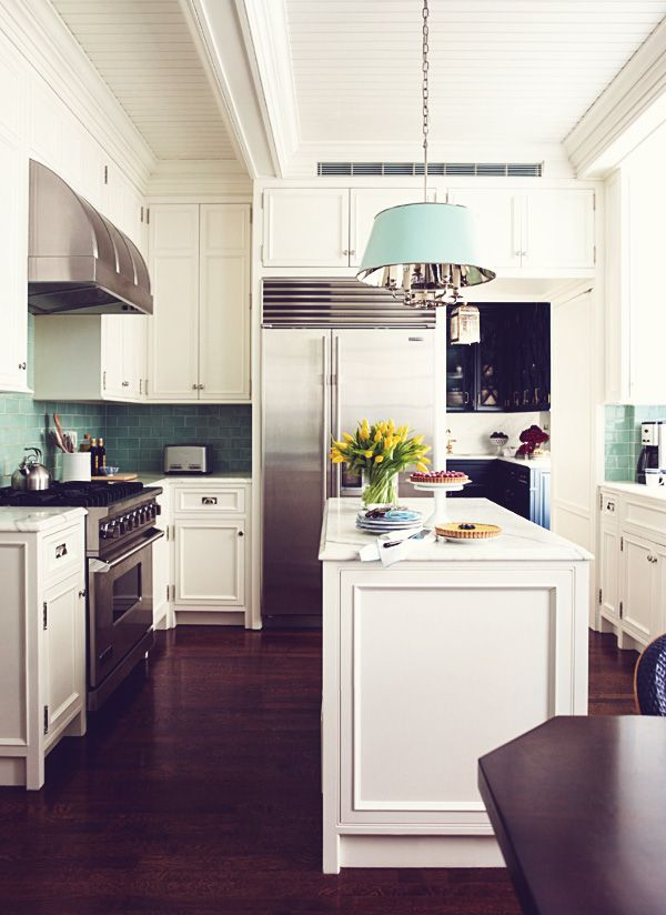 Kitchen with decorative lighting | Interior Design -er:  Ashley Whittaker
