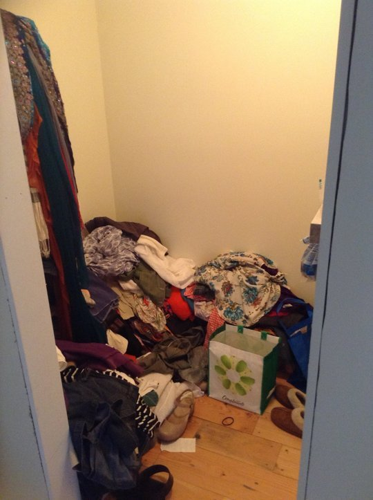 MUST-SEE: Before & After: Becky's Brilliant Basket-Based DIY Closet Organizer System Organizing Project ➤ http://bit.ly/1qCAXjm | I can only admit this because I have now dealt with the skeleton in my closet, but I am was (fingers crossed) a huge clothes piler. As a large-scale, whole-house renovation left us needing to stretch the last dollars a little farther, my husband and I decided to tackle much of the finishing details ourselves. |  #DESIGNREFRESH:The Best Interior Design Links of the Week!