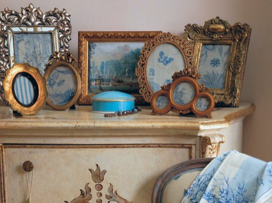 "MUST-KNOW: 73 ITEMS SIT ATOP MY DRESSER & IT'S NOT CROWDED AT ALL — HERE'S WHY...  ➤ http://carlaaston.com/designed/crowded-tablescape-vignette | Your table is bulging and bursting with pretty! There's so much goodness for the eyes to feast upon! Buuuuut there's no place to put your cocktail, coffee cup, or your keys! My response to this ""dilemma is... 