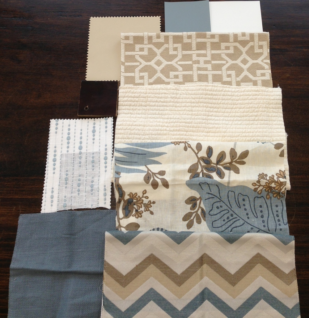 Pattern & fabric design layout | By Carla Aston