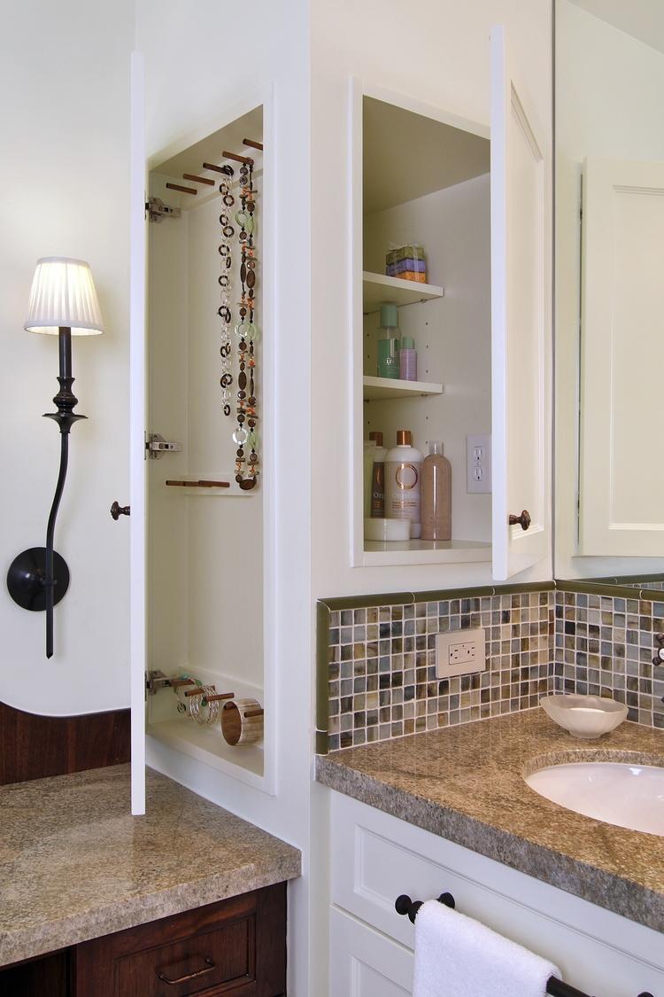 Bathroom designed by interior designer Carla Aston