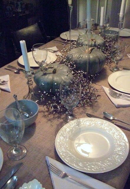 "MUST-HAVE: 10 RUSTIC CHIC MUST-HAVES FOR A FALL DINING TABLETOP SETTING  ➤ http://carlaaston.com/designed/rustic-chic-dining-table-setting | ""Here's how I'd do my Thanksgiving table if I could start from scratch."" 