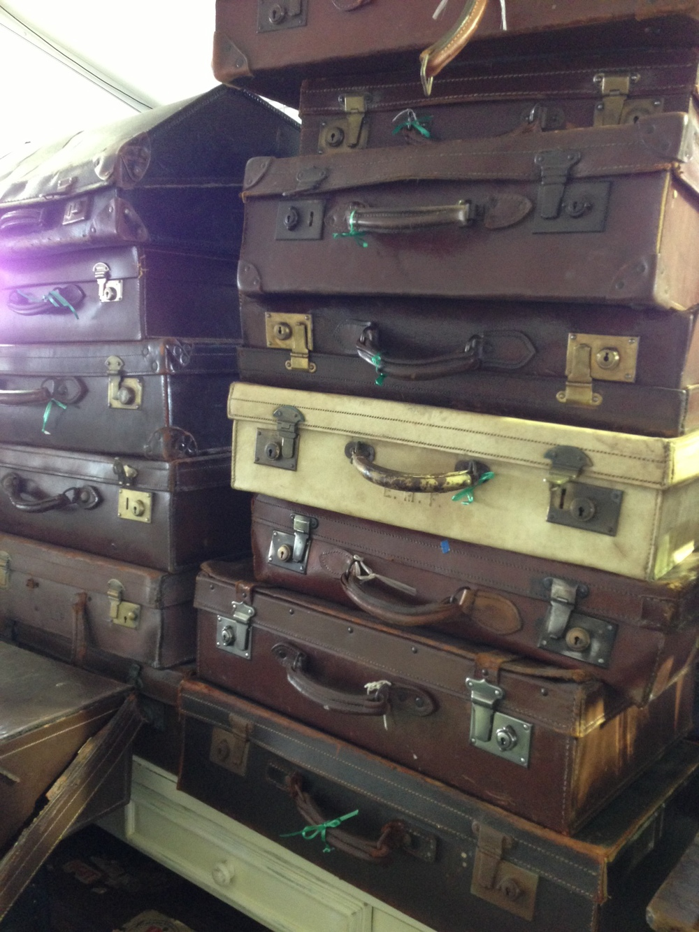 Antique furniture, decor; vintage cases