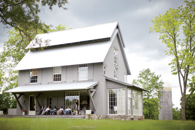 "MUST-SEE: A MODERN FARMHOUSE YOU'LL FOREVER WANT IN YOUR FUTURE  ➤ http://gardenandgun.com/gallery/photos-belk-farmhouse | ""This is a great country farmhouse with an idyllic setting. If I could own a place on the lake or out in the country, this would be it."" 