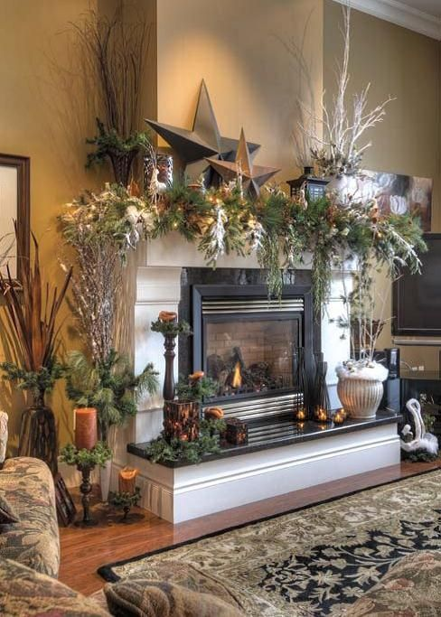 With all the ideas, tutorials, and how to guides on how to decorate your  mantel that are being shared around the web lately, that can only mean one  thing: