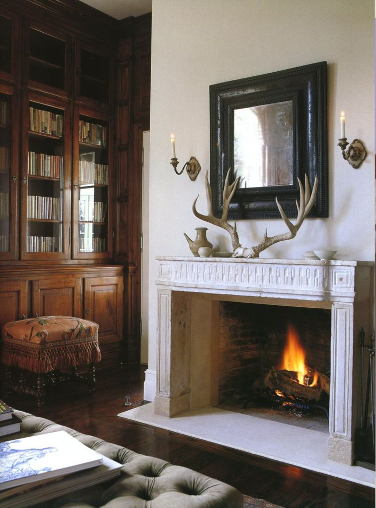 Interior designer  Michael S  Smith. How To Decorate Your Mantel   Tips  Decor Recs    Inspiration
