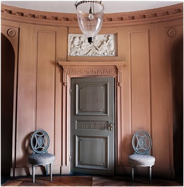 "entry; round room; best architecture, home interior design | Pictured: The ""Gunnebo House"""