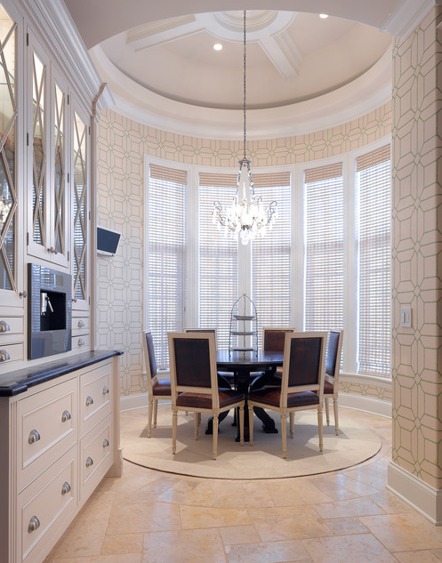 kitchen; dining room; round; best architecture, home interior design | Interior Designer: Bardes Interiors