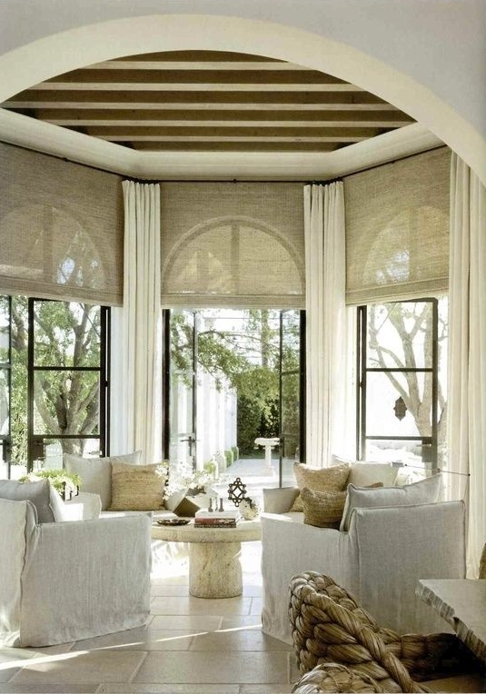 patio; round room; best architecture, home interior design | Interior Designer: name