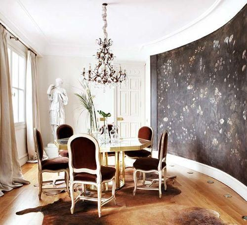 dining room; round room; best architecture, home interior design | Source:  Nuevo Estilo