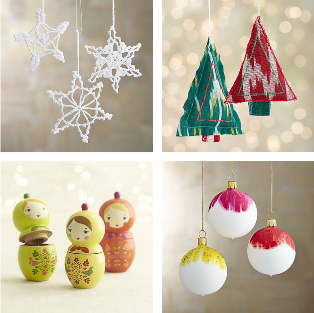 10 must have ornaments for your bohemian styled christmas tree designed