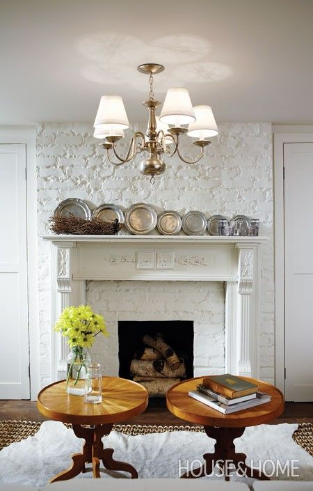 Decorate with, hang, pewter plates | Photographer: Michael Graydon