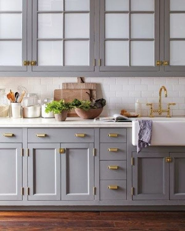 warm to cool color; kitchen; sink; cabinetry | Source: MarthaStewart.com
