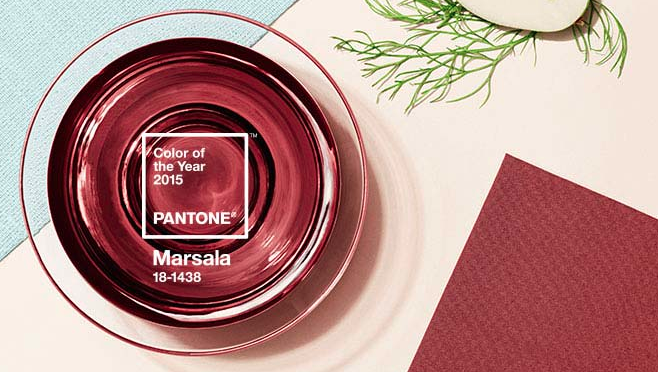 "MUST-KNOW  : Pantone's 2015 Color of the Year: Marsala    ➤  http://www.pantone.com/pages/index.aspx?pg=21163  | "" Pantone's Color of the Year was announced this week. I'm not a fan. It's really kind of depressing. Around here we call that Aggie colors (I do have an Aggie, BTW, and love them), but I'm not too fond of their colors. The other thing it makes me think of is raw meat. :-( I was saving a spot in my calendar for a post on the COTY, but not now. What do you think? "" 