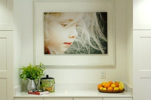Photograph / photography / photo as art in interior design | Designer: Becky Brown