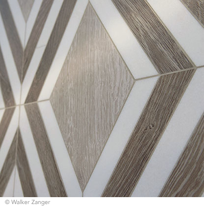 Best of #KBIS2015: Walker Zanger's Sterling Row Tile Collection |  Carla Aston reporting from Modenus' #BlogTourVegas