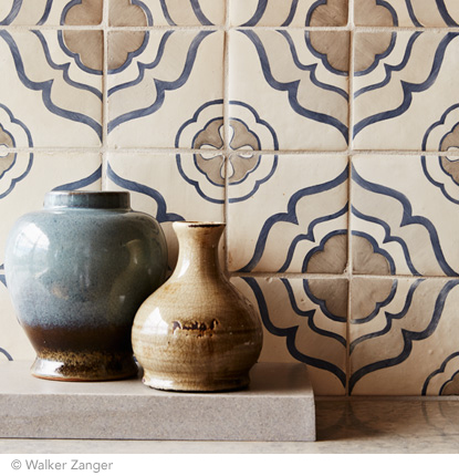 Best of #KBIS2015: Walker Zanger's Duquesa Tile Collection |  Carla Aston reporting from Modenus' #BlogTourVegas