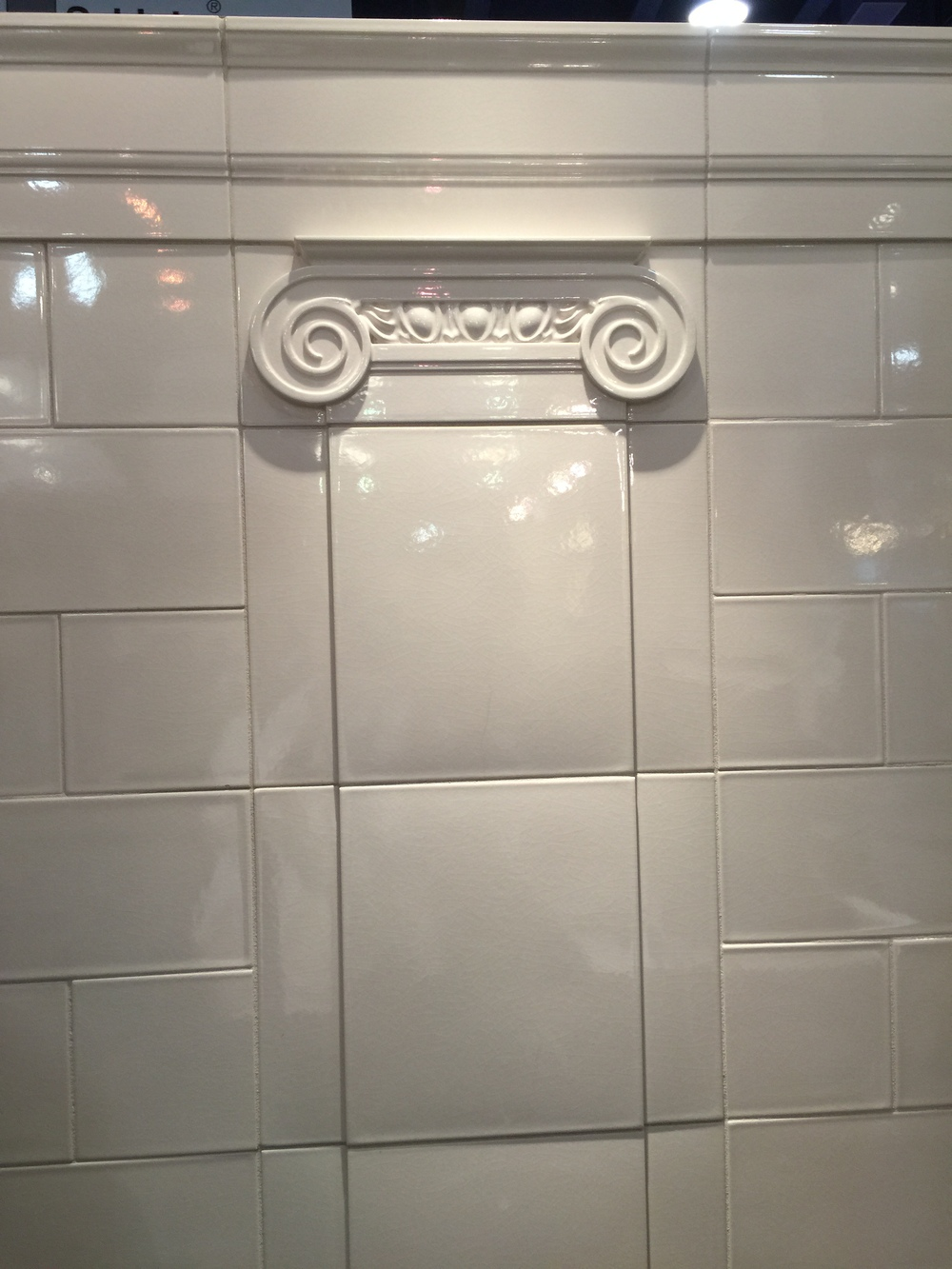 Best of #KBIS2015: Walker Zanger's Robert A.M. Stern Tile Collection |  Carla Aston reporting from Modenus' #BlogTourVegas