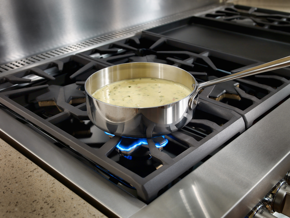 Best of #KBIS2015: Thermador's Pro Grand Steam Range / cooking appliance   Carla Aston reporting from Modenus' #BlogTourVegas   Image via: Thermador.com