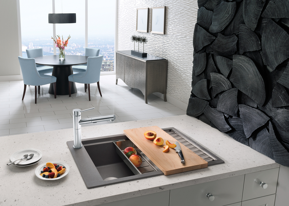 Best of #KBIS2015: MUST-HAVE: BLANCO's Luxury Sinks, Faucets, and Accessories / kitchen | Carla Aston reporting from Modenus' #BlogTourVegas | Image via: BLANCO.com