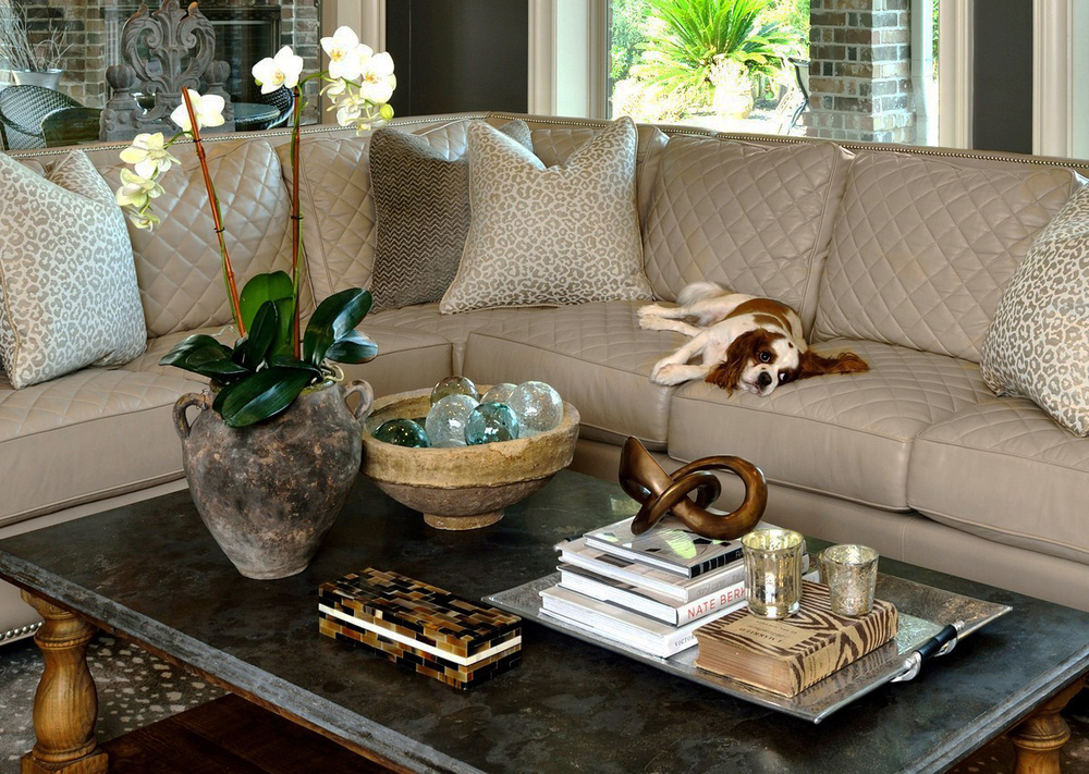 How to style your coffee table an interior designer reveals her best tips tricks designed for How to decorate living room table