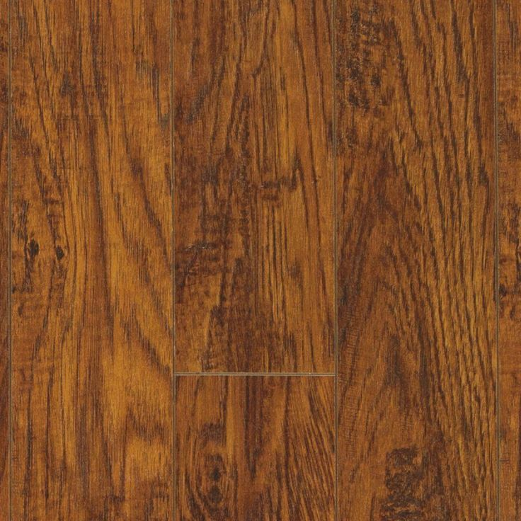 Pictured: wood look tile flooring