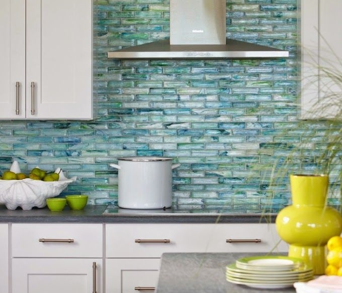 MUST-HAVE: Tile Backsplashes Gone Wild — Have You Noticed This Kitchen Design Trend? > http://carlaaston.com/designed/tile-backsplashes-gone-wild-have-you-noticed-a-trend — If you ask me, there's definitely an emerging trend coming upon us right now with these tile backsplashes, and the trend has been growing for some time now. | Interior Designer: Rachel Reider