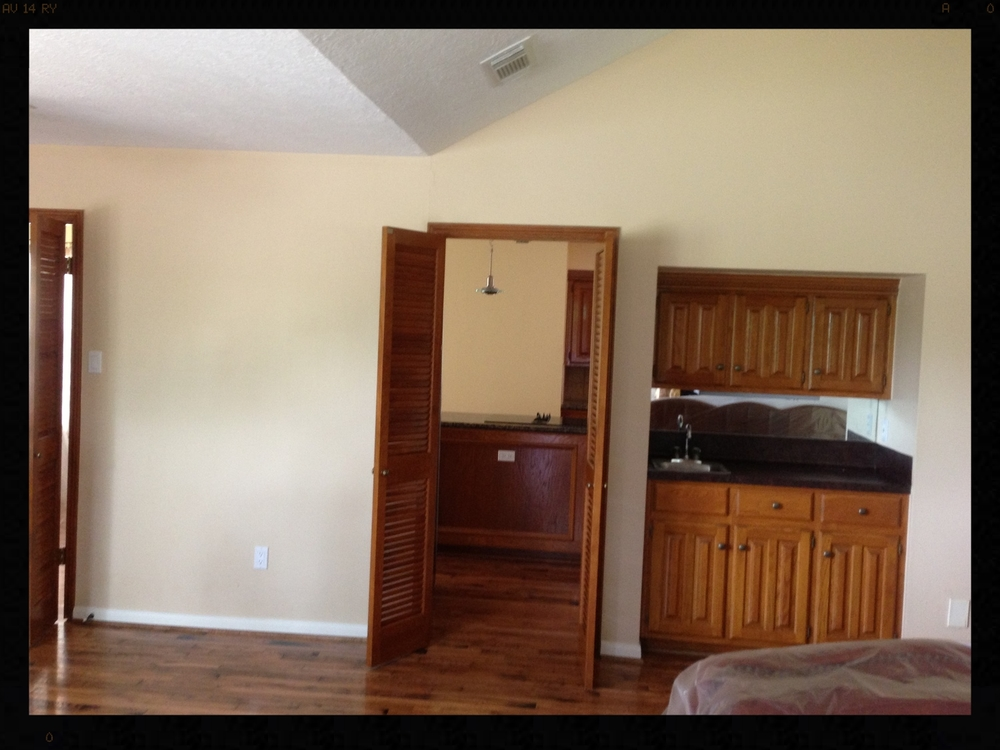 Wall torn down to open kitchen.JPG