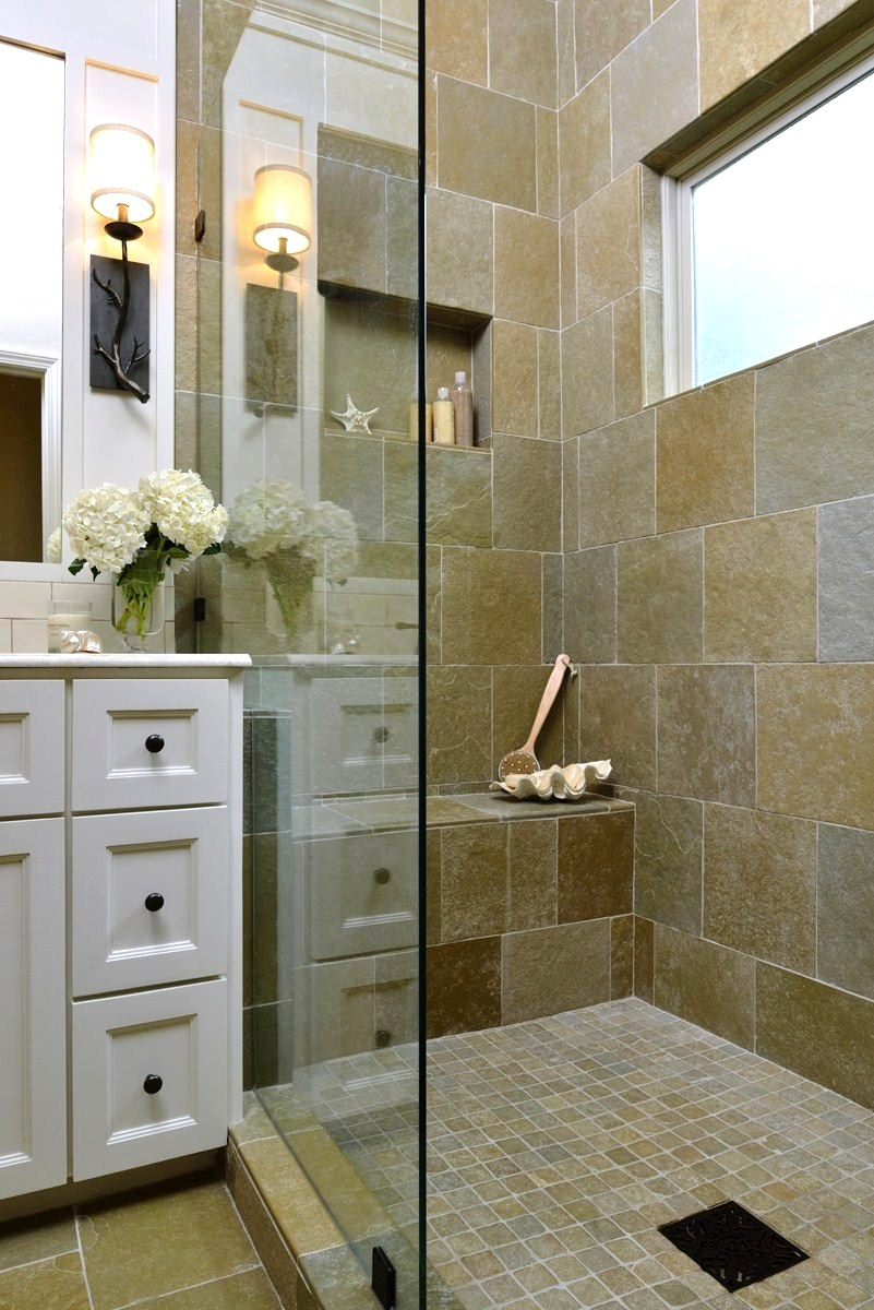 CLICK HERE    to see some of these unique decor pieces in this bathroom I designed!