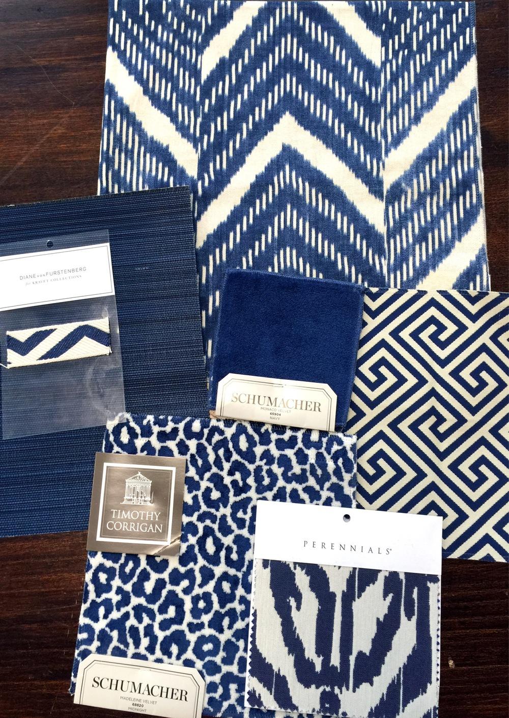 Cobalt Blue Fabrics.JPG