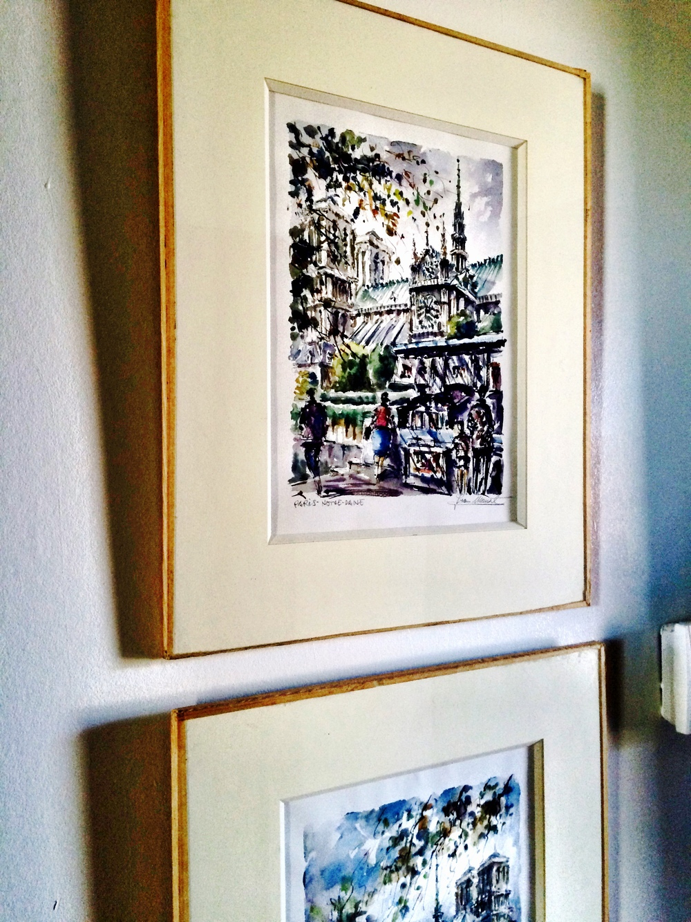 Home / apartment decor; frame; art | Remodeled by Deborah Peterson Milne