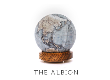 Globe designed by by Bellerby & Co. Globemakers